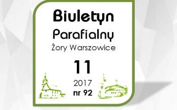 Biuletyn Parafialny listopad 2017
