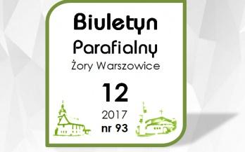 Biuletyn Parafialny grudzień 2017