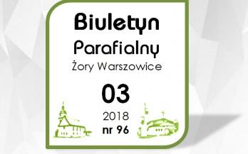 Biuletyn Parafialny marzec 2018