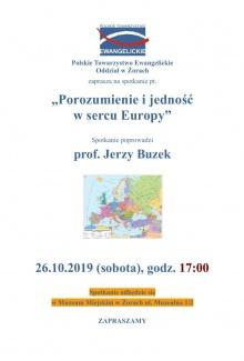 Prof. Jerzy Buzek w Muzeum Miejskim w Żorach