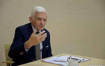 Porozumienie i jedność w sercu Europy – Jerzy Buzek w Muzeum Miejskim w Żorach